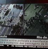 Avenida Paulista interditada para carros agora pela Tropa de Choque. Idem, no RJ