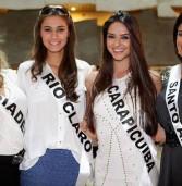 Começa o treinamento do Miss São Paulo 2013  e Miss Carapicuiba já está nele