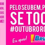 Deputada Bruna Furlan apoiando a Causa do 'Outubro Rosa'