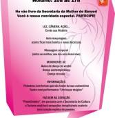 Dia 25, evento na Secretaria da mulher – programação