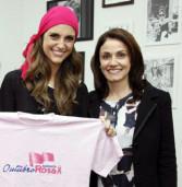 Outubro Rosa de Barueri ganha apoio de Chris Flores
