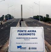 Ponte estaiada de Barueri é aberta aos veículos no dia 27