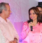 Lançamento de Outubro Rosa, foi uma grande festa noturna de apoio à saude