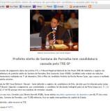 Candidatura de Elvis e de Silvinho julgadas inelegíveis pelo TRE-SP – cabendo 'recurso'