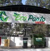 Ecoponto do Centro Comercial Alphaville