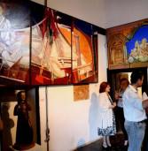 Exposição em Parnaíba do artista  Percival Tirapeli