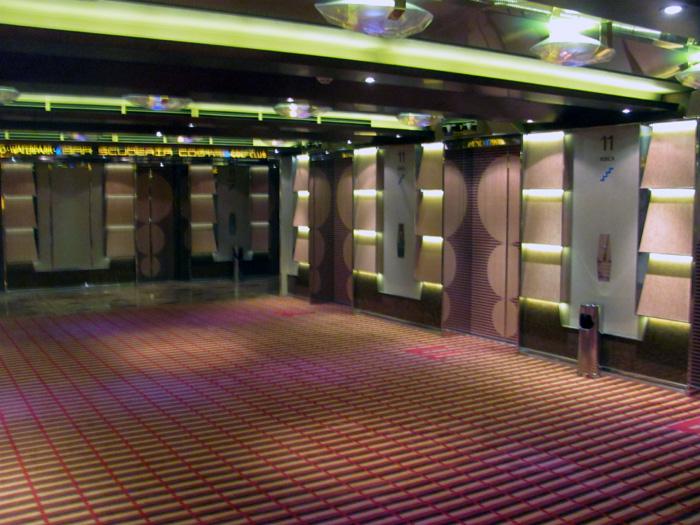 hall interno de elevador