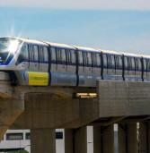 Hoje, viagem teste em SP do primeiro monotrilho do Brasil, trem linha 15-Prata