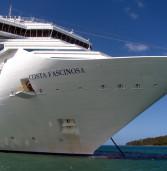 Viagem de nossa editora, no navio Costa Fascinosa, em janeiro de 2013, mostra detalhes deste grande navio italiano de volta nesta temporada de verão