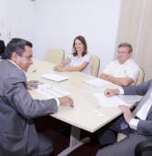 Secretário de Emprego do Estado de São Paulo Tadeu Morais visita Santana de Parnaíba