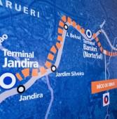 Governador Alckmin inaugura obras de corredor de ônibus para Região Oeste