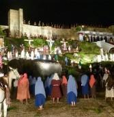 Hoje, é o terceiro dia do espetáculo Drama da Paixão em Santana de Parnaíba