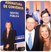 Hoje o governador de São Paulo assinou 2.169 convênios com todos os municípios do Estado de São Paulo.