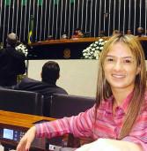 Bruna Furlan, participou da Sessão Solene para homenagear os 30 anos da votação da emenda Dante de Oliveira,