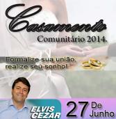 Inscrições abertas: em 27de junho haverá casamento comunitário em Santana de Parnaíba.