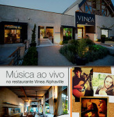 Informe Publicitário: Restaurante Vinea Alphaville traz sábados especiais com música ao vivo 'acústico – rock'
