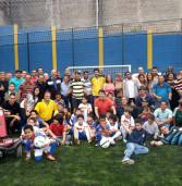 Prefeitura de Santana de Parnaíba inaugura mais uma quadra de futebol de grama sintetica
