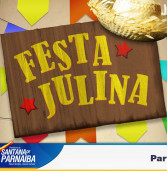 Festa Julina no Centro Historico de Santana de Parnaíba, dia 11/07