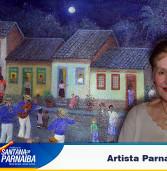 Morre a maior celebridade da cidade, a artista plastica de Santana de Parnaíba, Mariazinha Fernandes