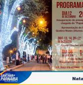 Programação de Natal de Santana de Parnaíba, para visitação