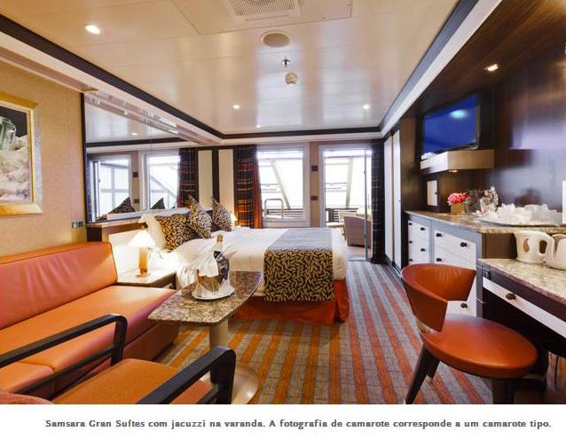 cabine Samsara Gran Suite com jacuzzi na varanda -ok
