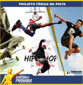 Street ball, slackline, dança, hip hop, Dj's e muita música em Santana de Parnaíba