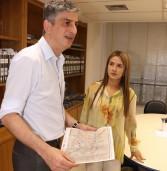 Deputada federal Bruna Furlan visita Secretário de Transportes Metropolitanos para pedir benfeitorias para a região
