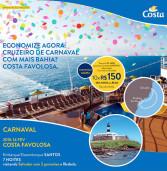 Banner Digital: Super promoção Costa Cruzeiros para o Carnaval! Ainda dá tempo!