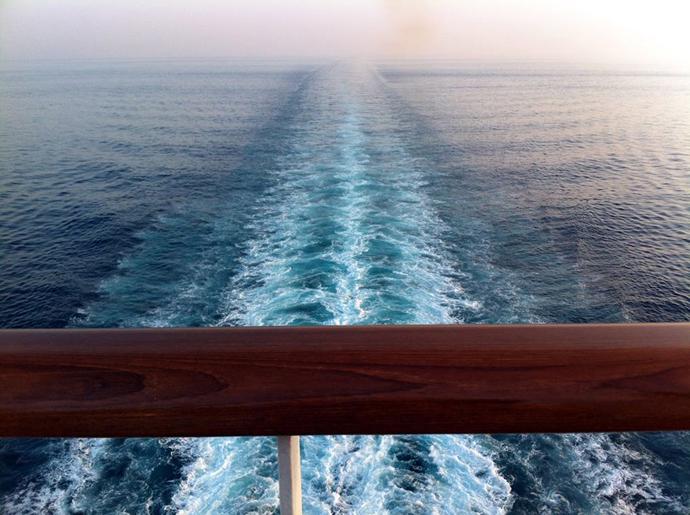 1.rastro do navio da cabine
