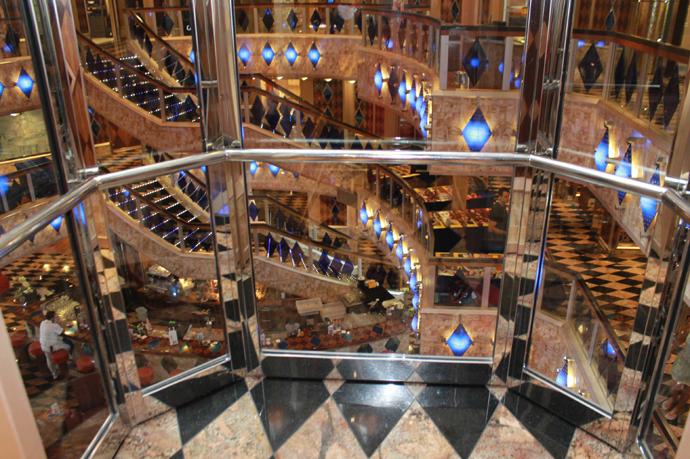 1.vista de dentro elevador panoramico