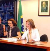 Bruna Furlan foi eleita hoje, 1ª Vice- presidente da COMISSÃO DE RELAÇÕES EXTERIORES E DE DEFESA NACIONAL