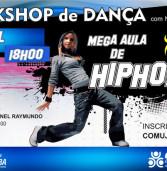 Amanhã, em Santana de Parnaíba, no Teatro Coronel Raymundo, Hip Hop!