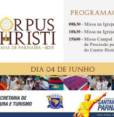 Vem aí, o evento de Corpus Christi em Santana de Parnaíba, dia 4