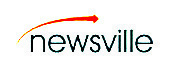 logomarca colorida da newsville