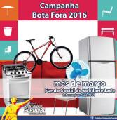 Participe do Bota Fora da prefeitura e ajude o Bazer do Fundo Social de Santana de Parnaíba