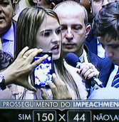Deputada federal Bruna Furlan do PSBD, de Barueri, vota pró-impeachment! Veja mais.