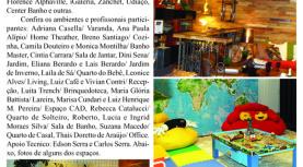 Diário de Alphaville 'Express', divulga Mostra Alpha Decor, que acontece no Shopping Iguatemi Alphaville. Entrada Gratuita