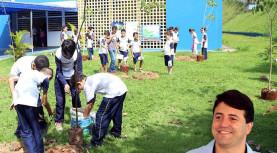 Projeto Arborizar, já plantou 2 mil arvores em Santana de Parnaíba