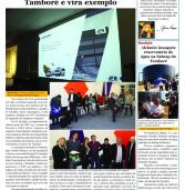 Folha de Barueri 'Express' de 28.07.2016: JFB, empresa que chega ao Tamboré, é exemplo de empreendedorismo