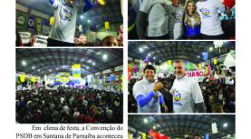 """Folha de Santana de Parnaíba """"Express"""": Convenção do PSDB no dia 22 de julho"""