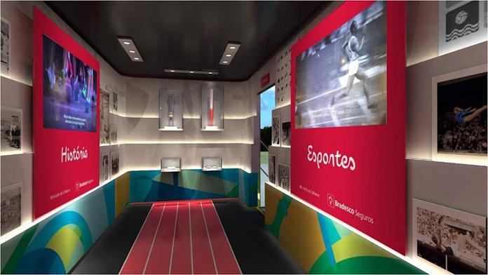 museu ininerante olimpiadas - carreta.dentro1