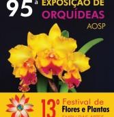 13º Festival de Flores e Plantas e 95ª Exposição de Orquídeas