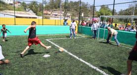 Prefeitura de Santana de Parnaíba inaugura Praça de Esportes no Bairro Chácara Solar 2