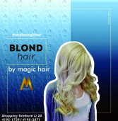 Publicidade: Magic Hair, do Shopping Tamboré apresenta o Blond Hair