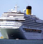O navio Costa Fascinosa, vindo da Itália, fará sua temporada 2019/2020 usando o Porto de Santos