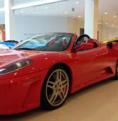 Iguatemi Alphaville: Exposição 'Super Carros' com Ferrari F430, Ferrari F355, Audi R8, Nissan GTR, Mitsubishi, Porsche Cayman e Ford Mustang