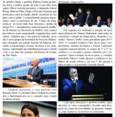 Diário de Alphaville Express de 05.01.2017: As posses dos prefeitos de Barueri e de Santana de Parnaíba