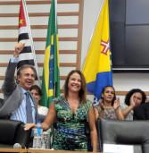 Posse do prefeito de Barueri, Rubens Furlan, lota Câmara Municipal