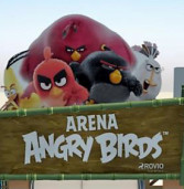 Arena Angry Birds anima as férias no Iguatemi Alphaville