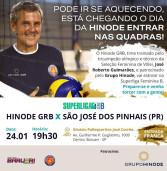 É HOJE! Super Liga Série B – Voleibol Hinode Barueri, no dia 24 – Ginásio José Corrêa – Entrada Franca
